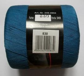 Vanessa katoen, kleurnr 830 (blauw), 50 gram, partij 5H09