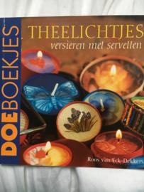 Theelichtjes versieren met servetten ISBN 90-384-1572-9