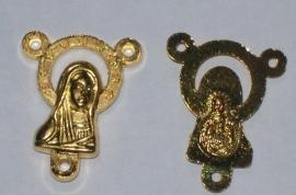 090558 Maria tussenstukje (connector) goud
