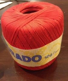 Eldorado katoen rood 50 gram