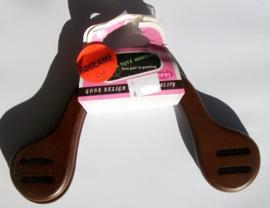 OPRY Bag & Tote Handle , bruin hout, 22 cm