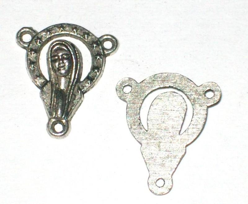 090570 Connector maria zilver)