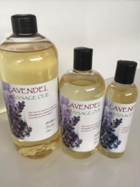 500 ml Lavendel massage olie