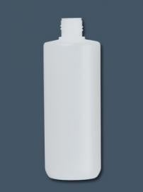 100 ml MAT kunstof fles + klepdop