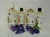 400 Gr. FLOWER PASSION - Grof dode zee scrub/bad zout