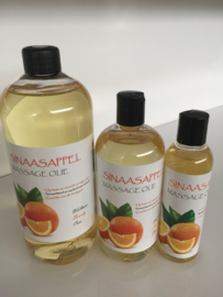 1 ltr. Sinaasappel massage olie + pomp