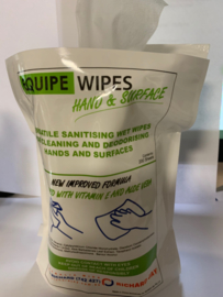 Wet Wipes ( 200 stuks in zak , met doseerdop per wet wipes )