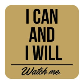 M013 | I can and I will