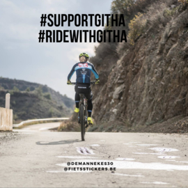 #RIDEWITHGITHA - Support Githa !