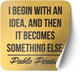 P004 | Pablo Picasso - Idea