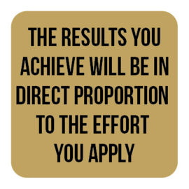 M029   The results you achieve...