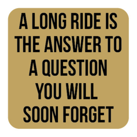 A035   A long ride is the...
