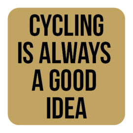 A010 | Cycling is always...
