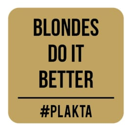 V012 | Blondes do it...