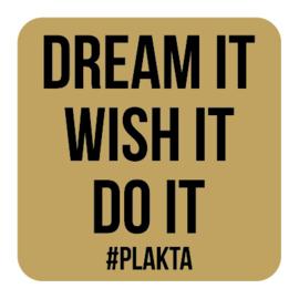 M015 | Dream it, wish it, do it