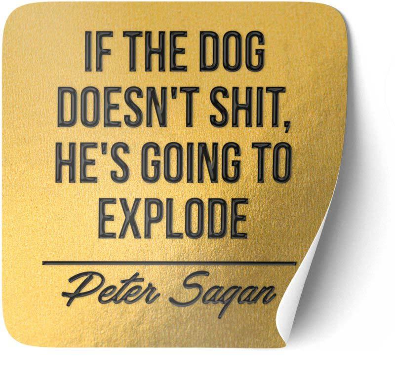 P012 | Peter Sagan - If the dog