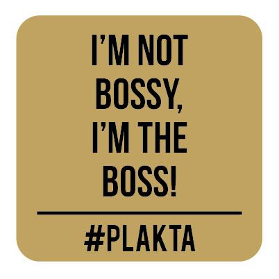V009 | I'm not bossy...
