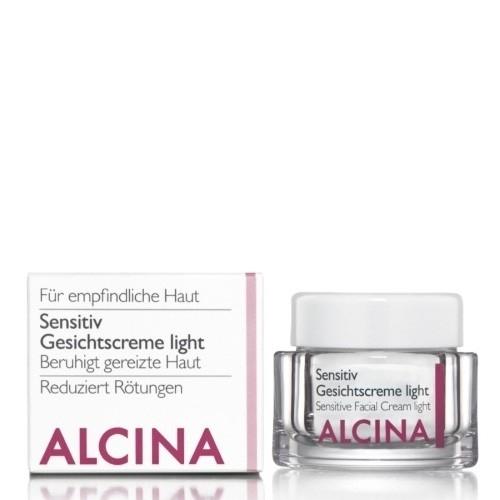 Sensitive gezichtscreme light 50 ml