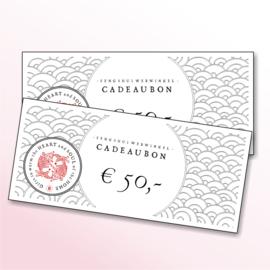Feng Shui Webwinkel Cadeaubon (€50,00)