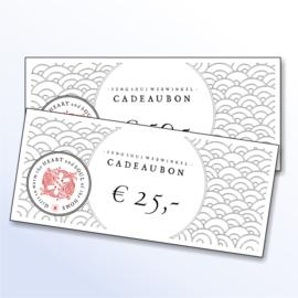 Feng Shui Webwinkel Cadeaubon (€25,00)