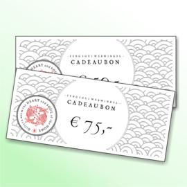 Feng Shui Webwinkel Cadeaubon (€75,00)
