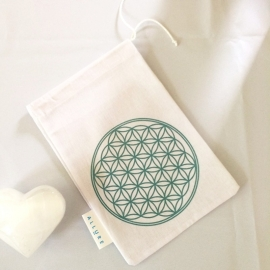 Flower of Life Opbergtasje (Medium)