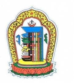 Sticker Kalachakra voor bescherming