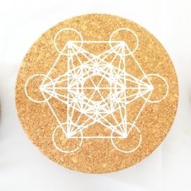 Crystal Grid - Kristallen Raster Metatron's Cube (Kurk)