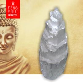 Edelstenen Lamp van Seleniet (Extra Groot) voor Zuivering en Spiritualiteit