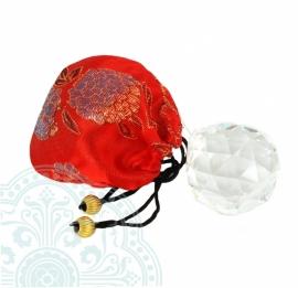 Feng Shui Regenboog Raamhanger Bol 5 cm (Kristal)