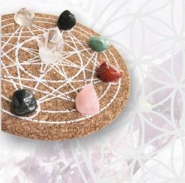 Angel Feng Shui Crystal Grid - Kristallen Raster (Complete Set)