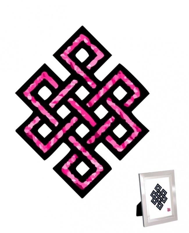 Mystieke Knoop Print voor Liefde en Harmonie - 50% KORTING!