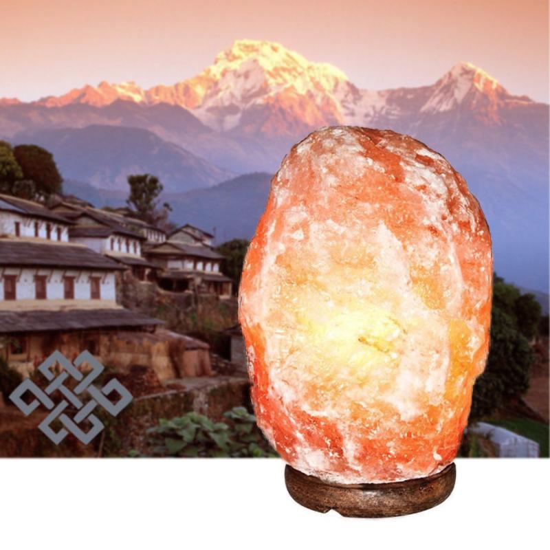 Feng Shui Lamp (Himalaya Zout Kristal) voor Zuivering, Ontspanning, Vitalisering