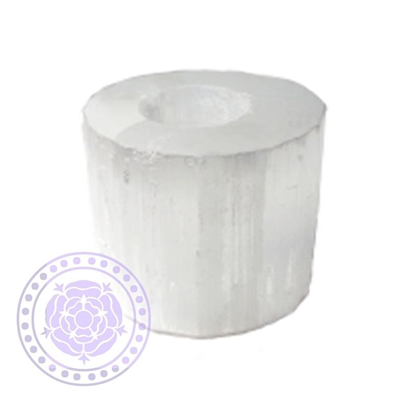 Seleniet Divine Kristal Theelicht (Cylinder)