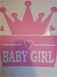 Baby girl kroontje