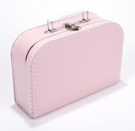 Koffertje met naam roze