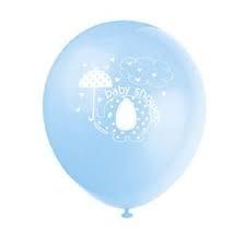 ballonnen bvaby shower bleu