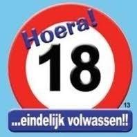 18 verkeersbord