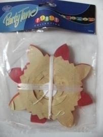 slinger papier bloem