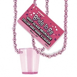 shot glas necklace voor de bride to be vrijgezellenfeest