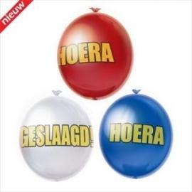 ballonnen geslaagd   serie bubbels