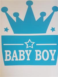 Baby boy kroontje