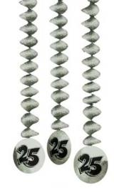 hangdeco zilver 25 3 stuks