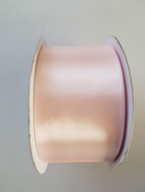 Satijn Lint roze 38 mm breed 25 m lang