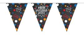 Vlaglijn #hoera #geslaagd #feest