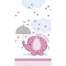 baby shower pink tafelkleed