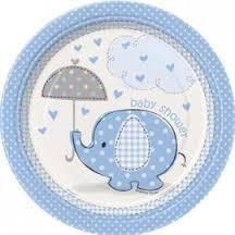 bordjes baby shower bleu