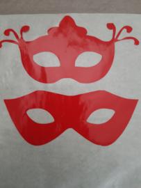 Maskers 2 stuks meer kleuren