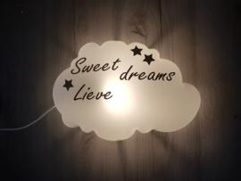 wolkenlamp Sweet dreams lieve...