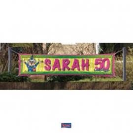spandoek / banner sarah